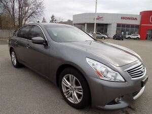 2012 Infiniti G37X Sport...AWD... LEATHER...TINTED WINDOWS