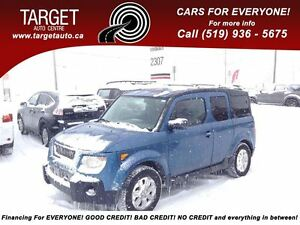 2006 Honda Element EX, AWD 2-Sets of Tires With Rims