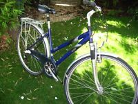 Raleigh Pioneer hybrid bike - Very Good Condition - ready to ride - central Oxford