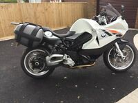 BMW F800 ST with original low suspension & low seat