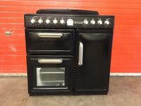 Leisure range electric cooker CMTE95K Ceramic multifunction oven 3 months warranty free local delive