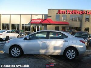 2014 Toyota Corolla LE w/backup cam, heated seats, bluetooth
