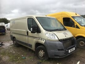 Peugeot boxer van spare parts available bumper bonnet wing lights doors seats