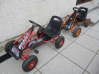 2 x go karts in excellent condition