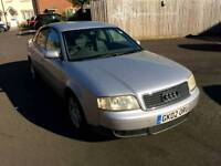 6 Speed Diesel Audi A6 in silver , great on fuel ,quick to drive ,px welcome