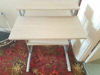 """Computer Desk Table Workstation 28"""" x 22"""" Home Office Furniture 3 Tier"""