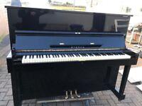 Eterna Black polyester upright (Yamaha)   Belfastpianos