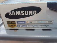 Samsung BLU RAY playerbrand new in the box