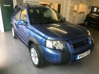 LANDROVER FREELANDER TD4 2.0/COMES WITH FULL MOT AND 3 MONTHS WARRANTY