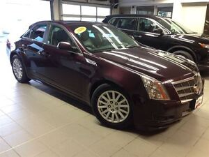 2010 Cadillac CTS AWD/PANO ROOF/LOW LOW KMS/GORGEOUS!!