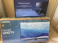 "Samsung 49"" curved 4k ultra HD smart led tv ue49ku6100"