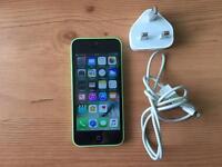 Apple iPhone 5c 16GB Green EE