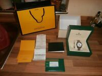 2017 ROLEX DATEJUST MENS WATCH , BRAND NEW IN BOX , NEVER WORN , WITH RECEIPTS , COST £4950
