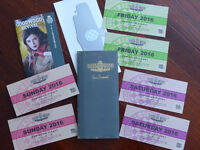 Goodwood Revival 2016 Weekend Pair of Tickets
