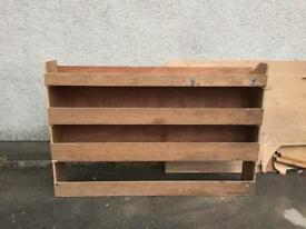 Vivaro / Trafic / Primestar rear rack. Perfect fit, solid plywood.