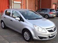 VAUXHALL CORSA 1.3 DIESEL ECOFLEX,HPI CLEAR,1 OWNER,A/C,30 POUND ROAD TAX,1 YEAR M.O.T