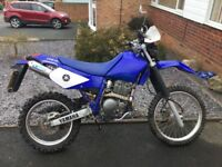 Yamaha ttr 250 trail bike ideal green laner.