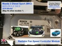 Mazda 3 BL R2AA Mark 2 2009-2013 Controller ECU Fan Speed Bosch