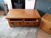 Solid wood 4 Drawer Coffee Table