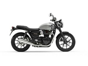 2018 Triumph Street Twin $500 Triumph Cash or 0% APR for 36 mont