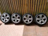 20 inch Alloy Wheels and Tyres