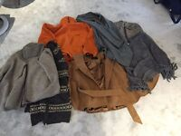 Size 10-12 woman's coat and jackets