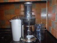 Heston Blumenthall Sage nutri juicer for vegetables and fruit