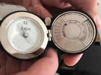 Harrods pocket watch & calendar