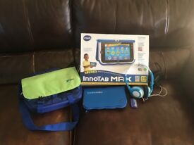 Vtech innotab max and accessories- great condition