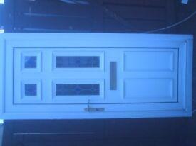 white upvc external door size h 79 in w 35 in