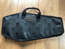 Skull Coffin Drum stick bag case ideal for metal drummer