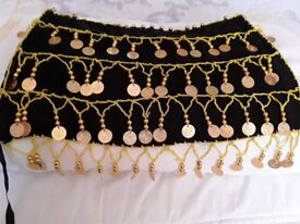 Belly Dance Gold Coin Top