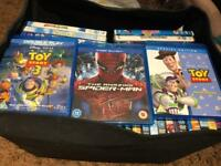 DVD's and Blu-Ray