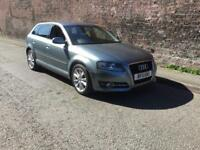 2011/11 AUDI A3 2.0 TDI SPORT FULL SERVICE HISTORY £30 ROAD TAX FINANCE AVAILABLE FROM £26 P/W