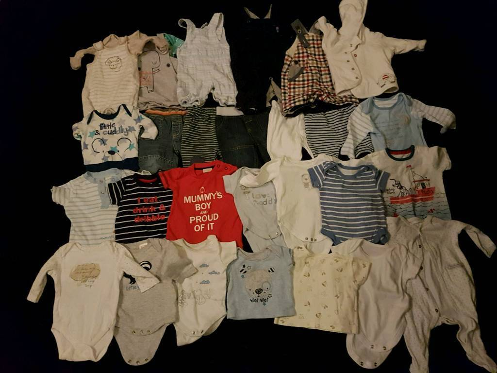Bulk Lot 0-3m Boys Clothes. Other Sizes Available Check Description For Details