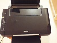 Excellent working order Epson SX105 with Disks Included & 4 Extra New Inks.