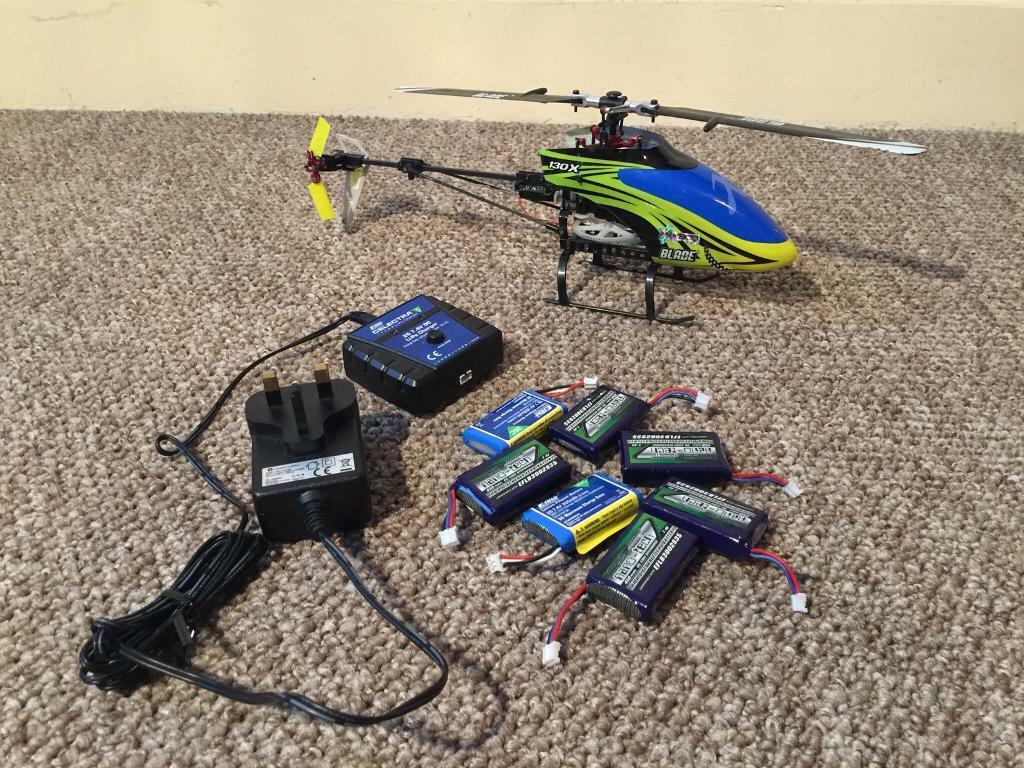 E-Flite Blade 130x BNF RC Helicopter