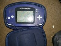 Nintendo Game Boy Advance console + 3x Games
