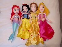 Disney Princess plush dolls
