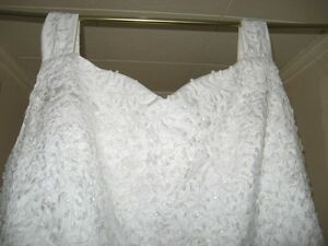 2 piece plus length bridesmaid dresses