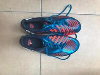 Nike and Adidas football boots