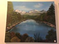 Beautiful water painting created by Jan Williams