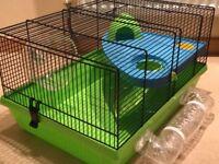 Medium Split Level Hamster Cage