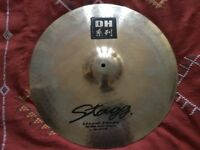 "Stagg Dual Hammered 20"" Brilliant Crash Ride Cymbal"