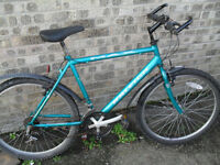 CHEAP MANS RALEIGH MAX BIKE GOOD WORKING ORDER..... LOWESTOFT