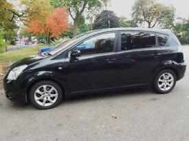 Toyota Corolla Verso 1.8 VVTI Manual Black