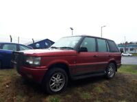 1997 range rover p38 lpg spares or repairs... starts nd drives fine