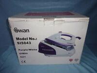 STEAM GENERATOR IRON - SWAN SI5043 - 2300w - PURPLE - SELF CLEAN