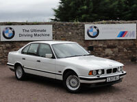 BMW E34 530i V8 Saloon, Manual, 118k Miles, 2 Owners, 1 Year MOT, 15 Service Stamps