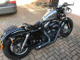 HARLEY-DAVIDSON SPORTSTER XL1200 48 XL1200 X FORTY EIGHT